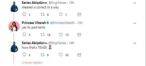 P**sy singer Princess Vitarah shows off the lingerie she