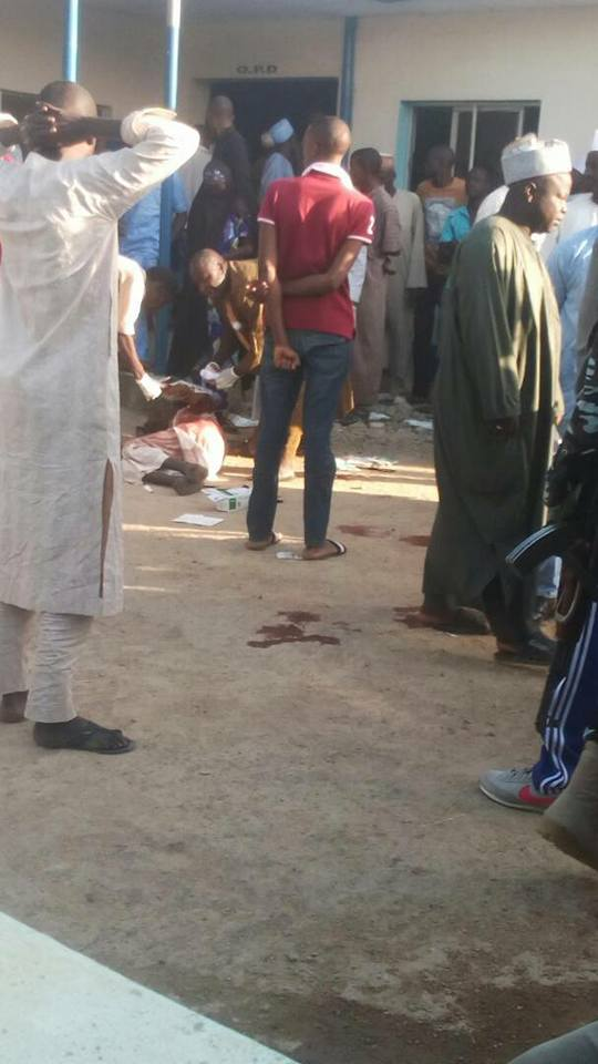 Update: Death toll in Adamawa bomb attack rises to 50, see graphic photos from the scene