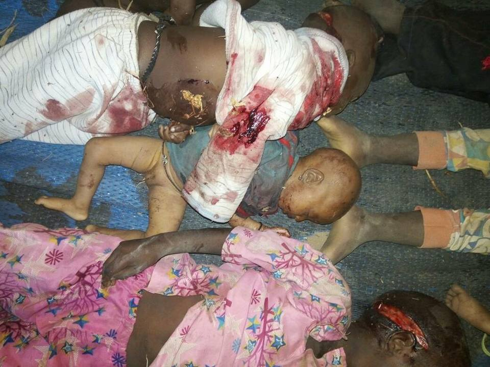 Shocking photos of little children killed in fresh Adamawa Fulani/Farmers clash (graphic)