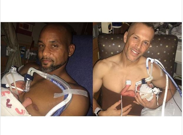 American Gay couple Shaun T & Scott Blokker welcome twin boys together?