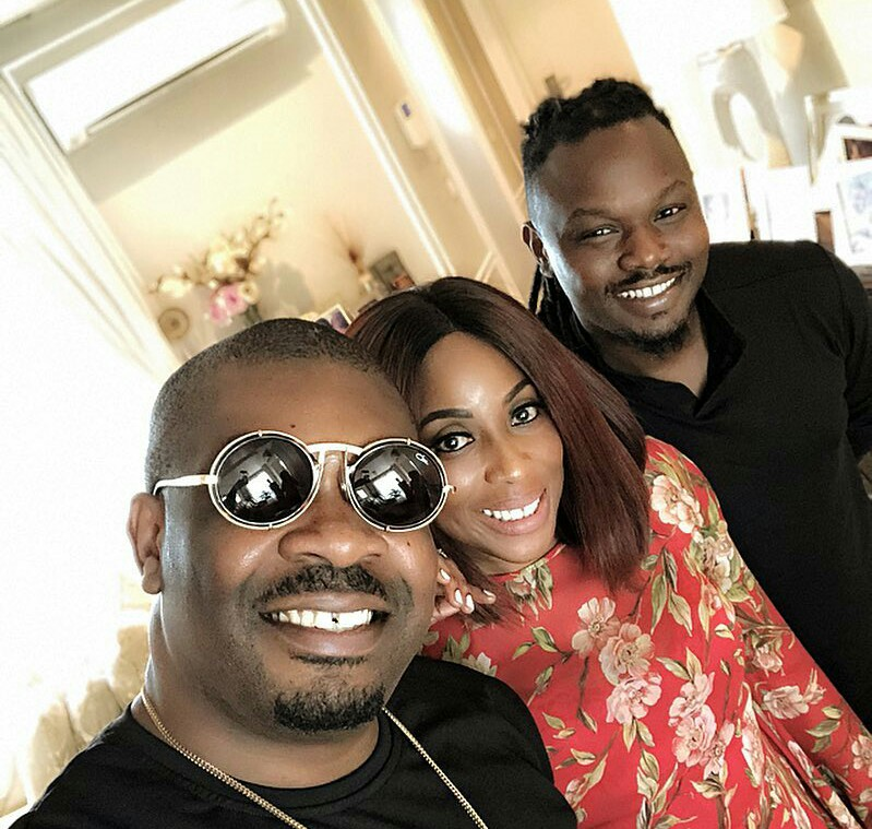 Don Jazzy and Dr. Sid hang out with Mo Abudu (photos)