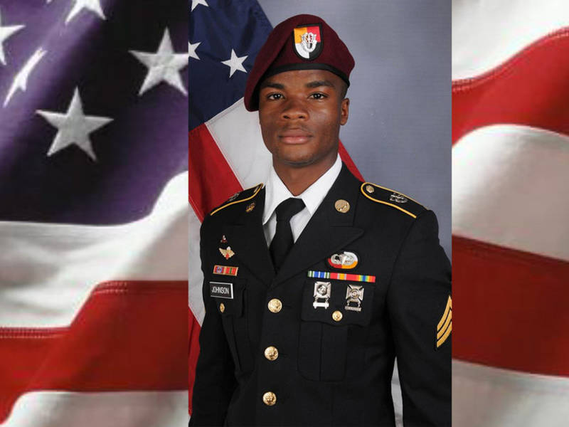 Additional remains of US soldier Sgt. La David Johnson found in Niger