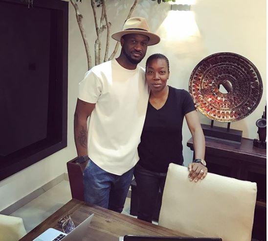 Peter Okoye unveils former Kush singer, Emem Ema, as his new manager