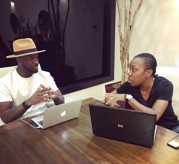 Peter Okoye unveils former Kush singer, Emem Ema, as his new manager