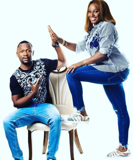 Comedian, Ushbebe and wife celebrate 4th wedding anniversary