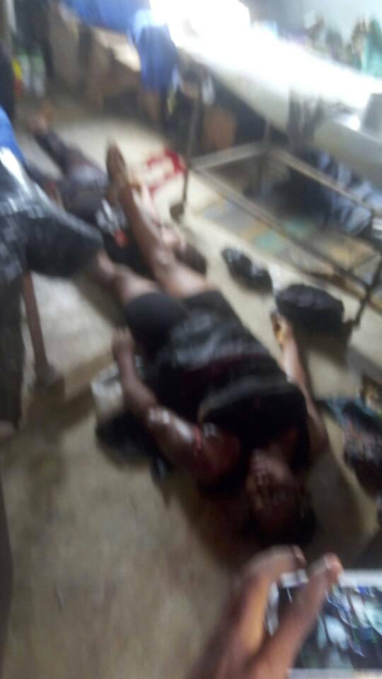 Photos: Five dead as Tipper rams into three commercial buses in Obosi, Anambra state