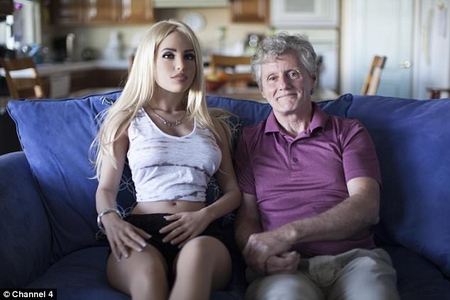 58-year-old man reveals he sleeps with sex robot four times a week & his wife is fine with it (Photos)