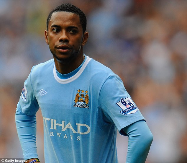 Former Manchester City and Real Madrid star Robinho