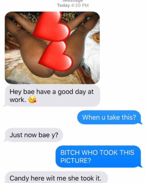 See what happened when a lady sent her nude photo to her
