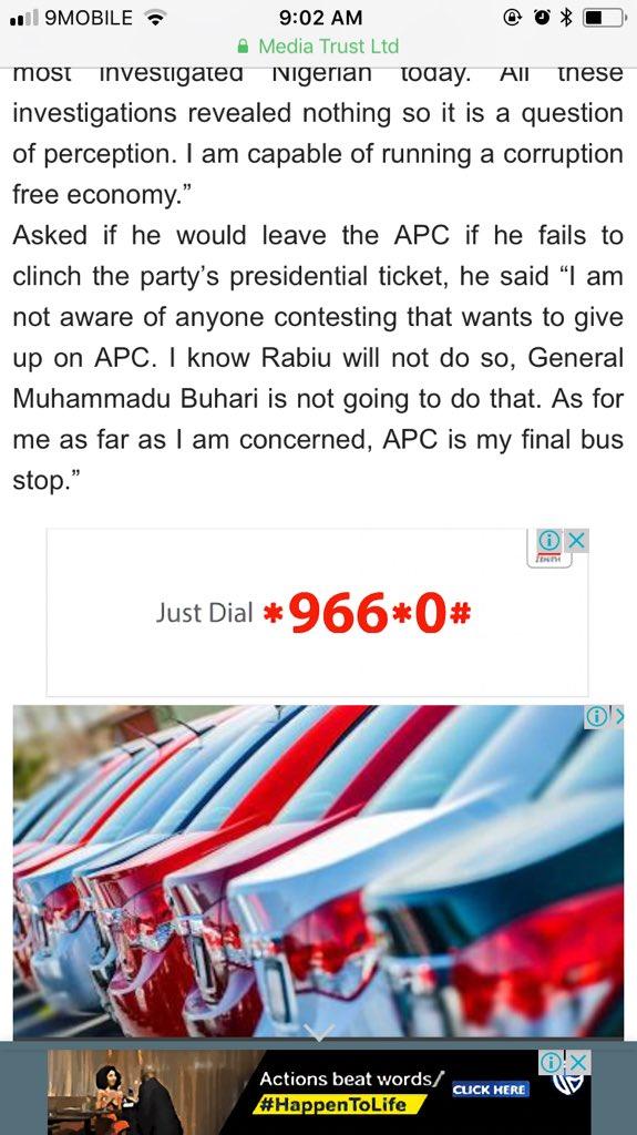 Nigerians dig out Atiku Abubakar