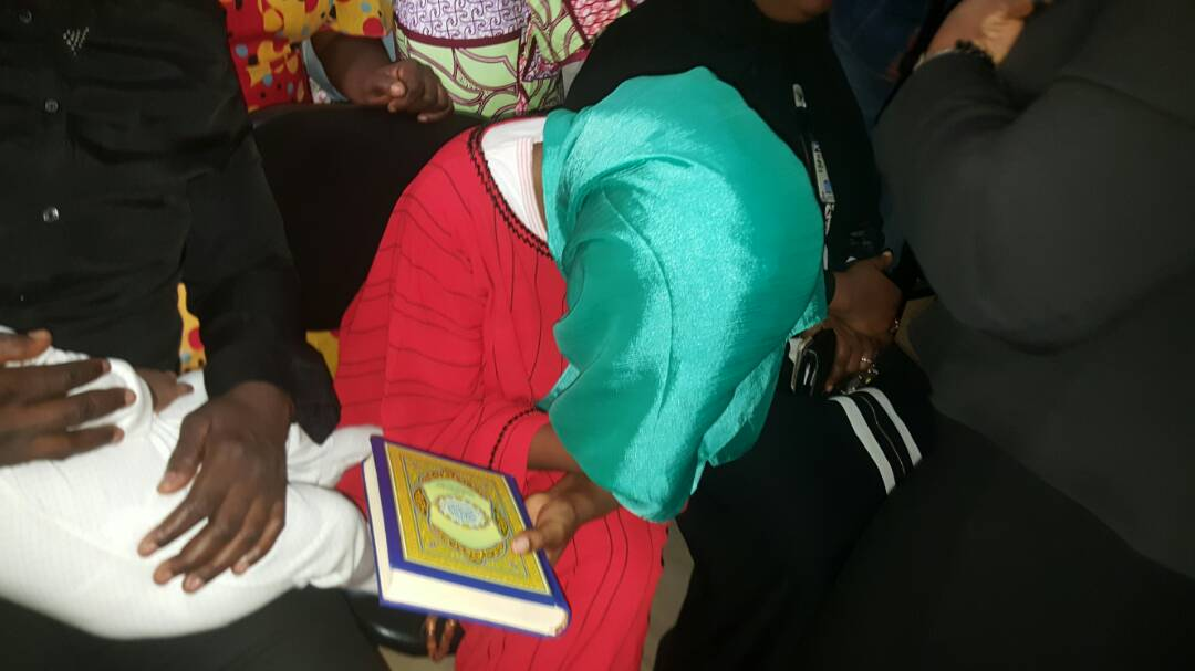 Photos: Maryam Sanda weeps as she is arraigned in court for stabbing her husband, Bilyaminu Bello to death, sent to prison