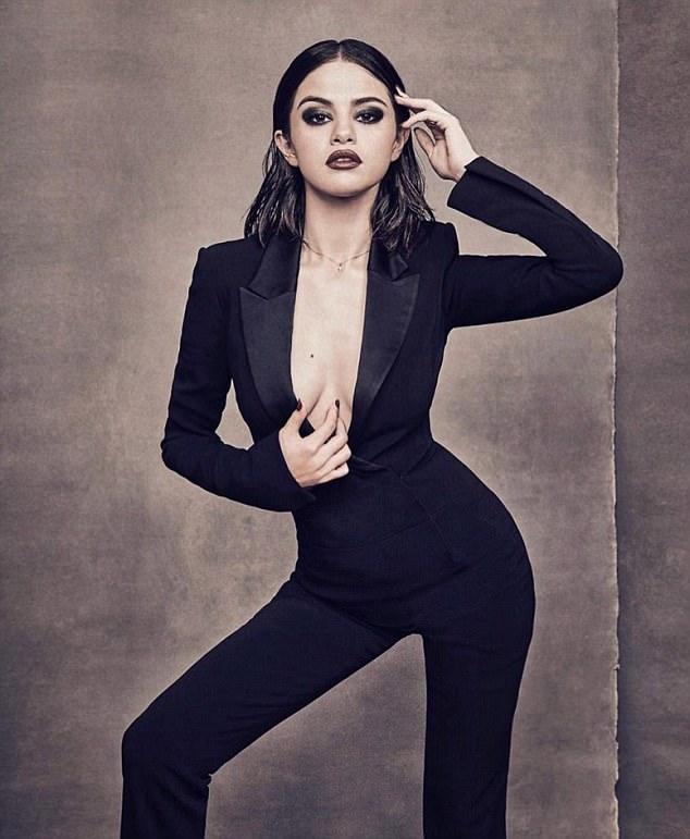 Selena Gomez looking fierce like you