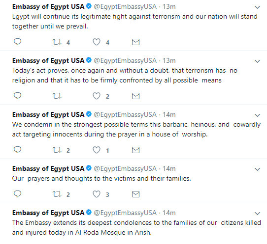 Egypt mosque attack update: Death toll rises to 235