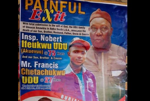 Obituary of Nigerian father and son who both died after brief illness?
