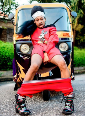 Denrele strikes crazy pose with Keke Napep in new photo