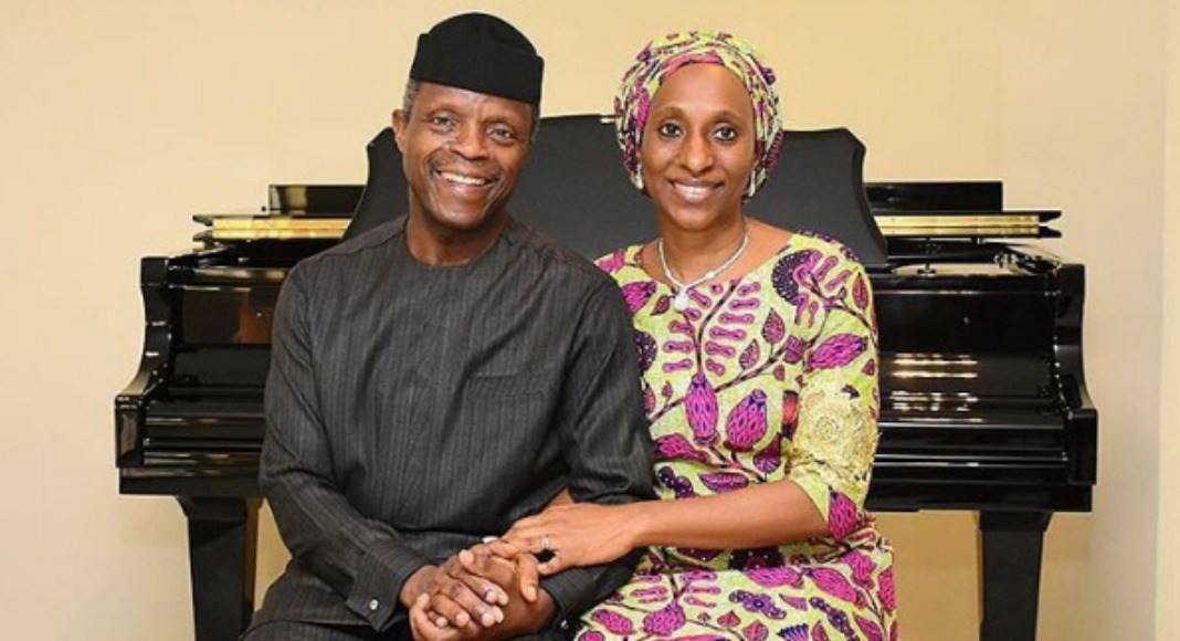 Wife of Vice President, Dolapo Osinbajo celebrates her husband on their 28th years anniversary