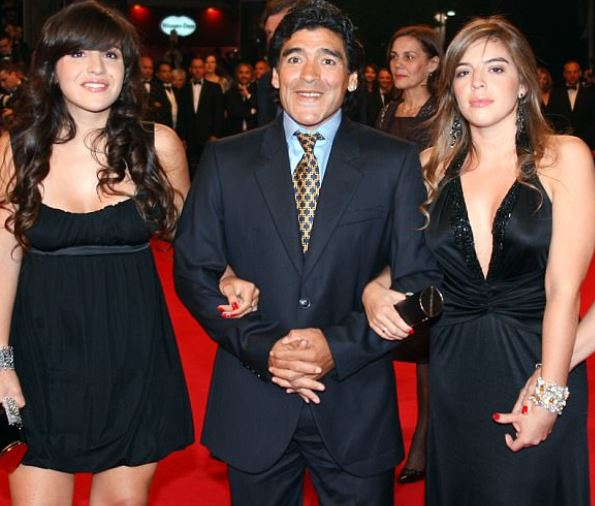 Diego Maradona wants his daughter to be jailed?after accusing her of plotting to steal ?3.4million from him