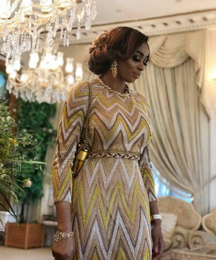 Stunning new photos of billionaire wife, Shade Okoya