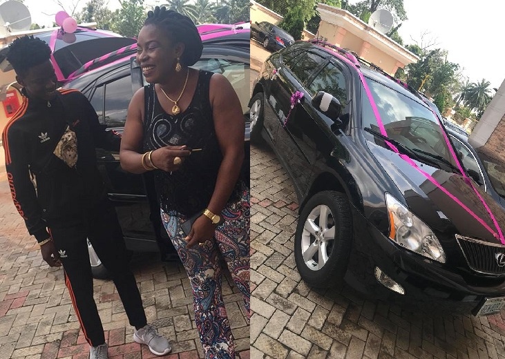 Nigerian boy, 17, buys his mom a Lexus SUV (Photos/Video)