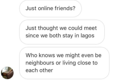 Angry Nigerian lady shares screenshot of the DM she