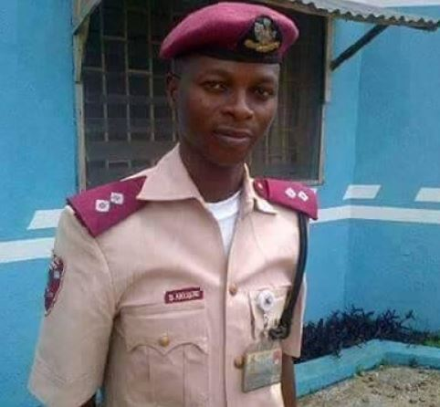 FRSC officer crushed to death by reckless driver in Ondo state