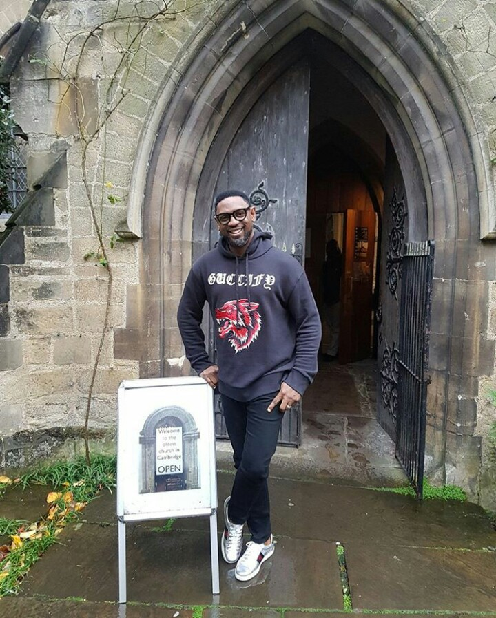 COZA pastor rocks $1615 Guccify hoodie on visit to Cambridge