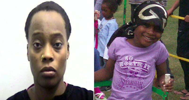 Mother who starved seven-year-old daughter to death is released after only seven years