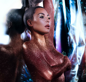 Kim Kardashian goes fully nude for her own beauty campaign