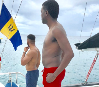 Reno Omokri shows off his hot bod as he holidays in Barbados (photo)