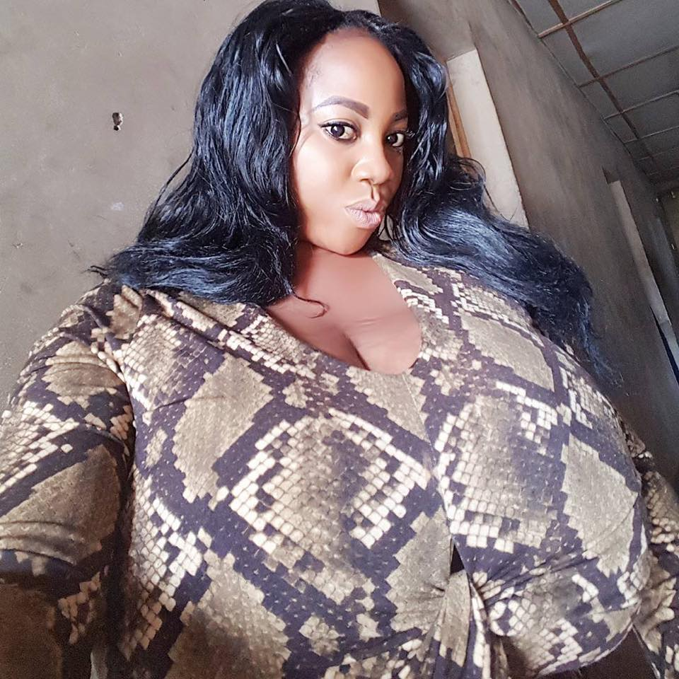 More photos of the lady whose boobs caused commotion online yesterday