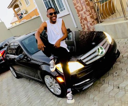 Photo: Mr 2kay acquires new Mercedes Benz C300