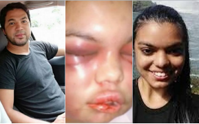 TF? Jealous husband beats up his 21 years old wife for every Facebook like and comments she received including photos of her he posted by himself