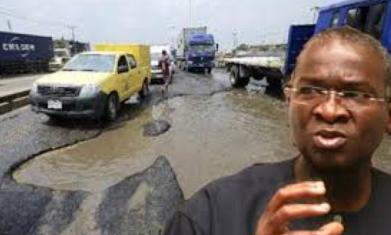 Image result for images of Babatunde Fashola on Federal road