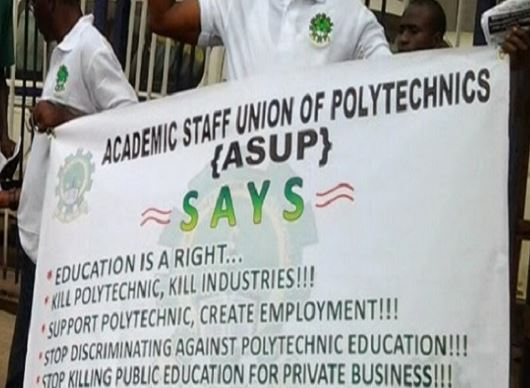 Academic Staff Union of Polytechnics suspends 15-day old nationwide strike
