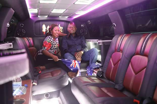 From private jet to Limousine, wealthy Malawi pastor Prophet Bushiri and his wife arrive Australia in style