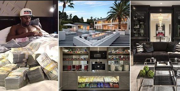 Floyd Mayweather?s new $26M Beverly Hills Mansion burglarized while on vacation in China?