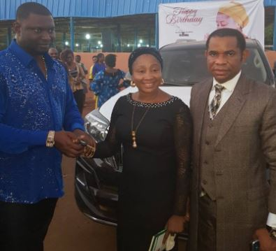 Billionaire Businessman?Escoba Smith buys brand new 2017 Toyota Prado Jeep for his?pastor as birthday gift