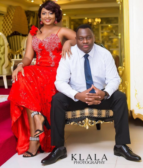 Nollywood Actress, Naomi Nkechi Aka Nurse Titi Set To Wed, Beautiful Pre-Wedding Shoots.