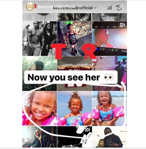 R&B singer Kevin McCall disowns his 3-year-old daughter on Instagram amid feud with his ex Eva Marcille