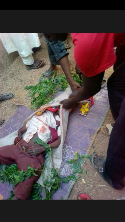 Graphic: Machete-wielding man storm primary school in Borno, kill three pupils and injures a teacher