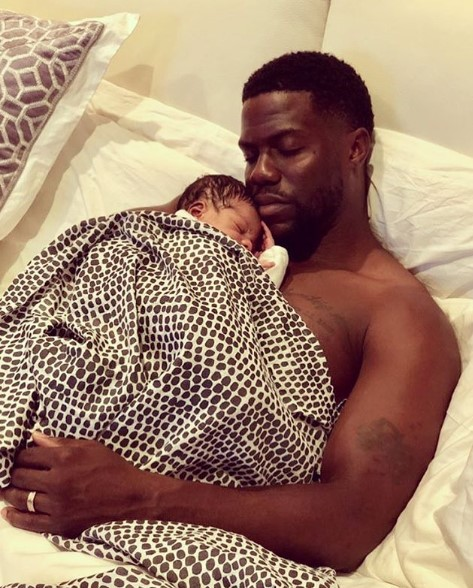 Beautiful photos of Kevin and Eniko Hart with their adorable newborn son
