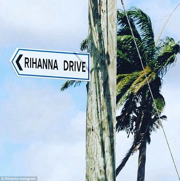 Photos: Rihanna stuns in yellow at ceremony where a street is named after her in her hometown in Barbados