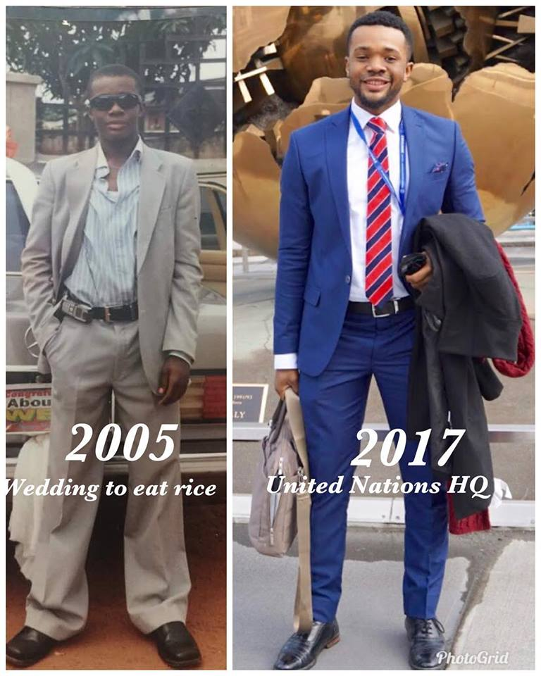 Check out before and after photos of Nollywood actor, Williams Uchemba