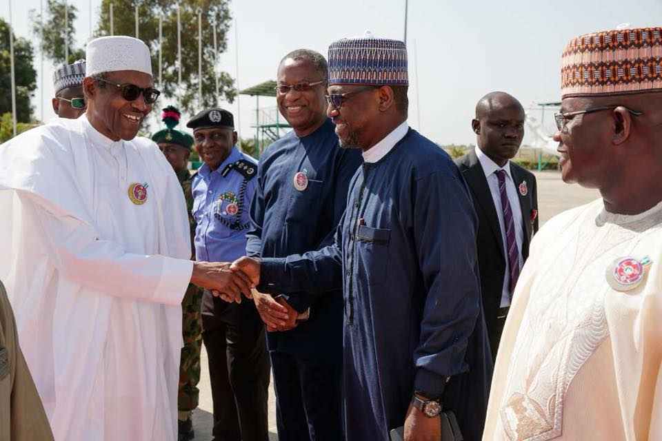 Photos: President Buhari departs Nigeria for Jordan ahead of Counter Terrorism Summit
