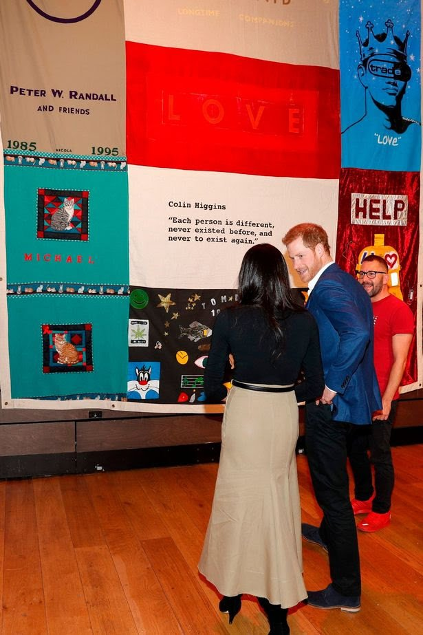 Prince Harry and Meghan Markle attend their first official engagement together