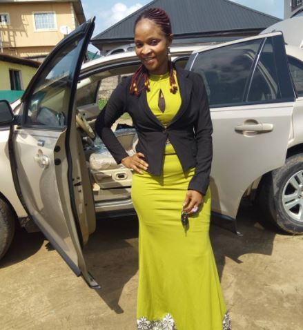 Nigerian woman gets brand new car less than a week after she gave her old car to her church (photos)