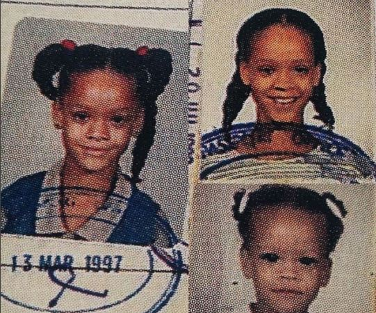 See what Rihanna looked like 20 years ago (photo)