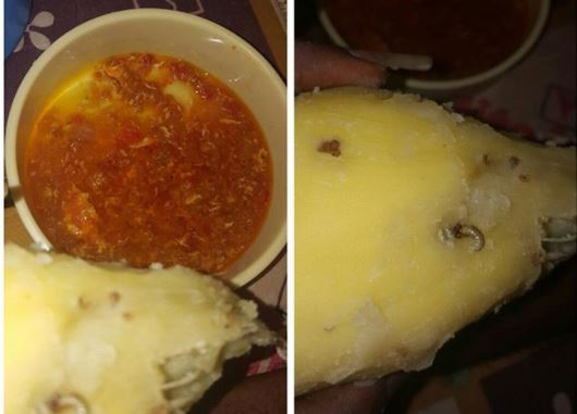 See the food Corp members were allegedly served at the Kebbi State NYSC orientation camp