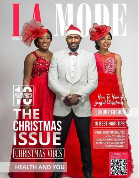 Linda Ikeji TV presenter, Tope Olowoniyan, Nancy Isime and Ume Ezeoke grace the cover of La Mode magazine