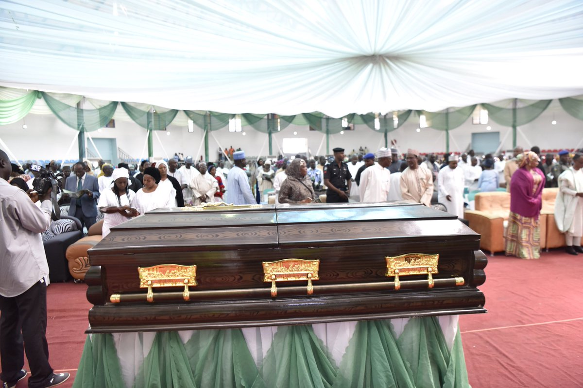 Photos from the funeral of Kaduna state Commissioner of Education, Andrew Nok